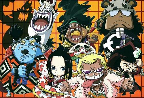 Eiichiro Oda, Toei Animation, One Piece, Bartholomew Kuma, Boa Hancock