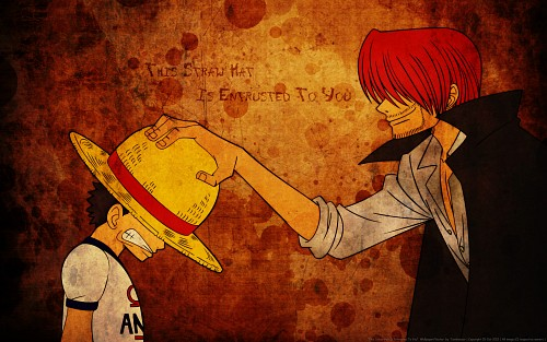 Eiichiro Oda, Toei Animation, One Piece, Monkey D. Luffy, Shanks Wallpaper