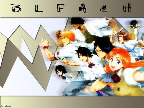 Kubo Tite, Studio Pierrot, Bleach, Tatsuki Arisawa, Rukia Kuchiki Wallpaper