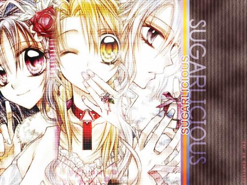Arina Tanemura, Shinshi Doumei Cross, Komaki Kamiya, Haine Otomiya, Ushio Amamiya Wallpaper