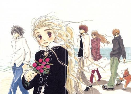 Chika Umino, Honey and Clover, Ayumi Yamada, Shinobu Morita, Takumi Mayama