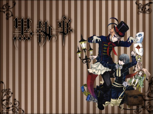 Yana Toboso, A-1 Pictures, Kuroshitsuji, Ciel Phantomhive, Drocell Cainz Wallpaper