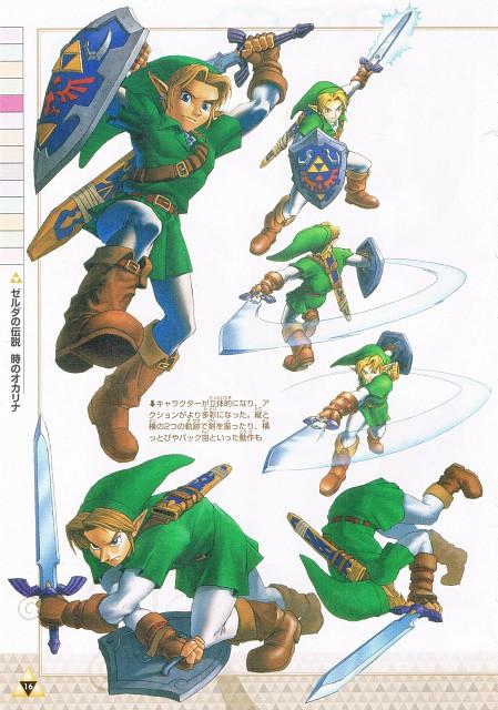 Nintendo, The Legend of Zelda, The Legend of Zelda: Ocarina of Time, Link