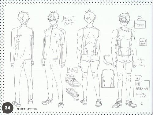 Kyoto Animation, Free!, Rei Ryuugazaki, Character Sheet