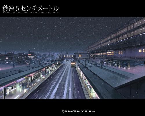 Makoto Shinkai, Five Centimeters Per Second, Official Wallpaper