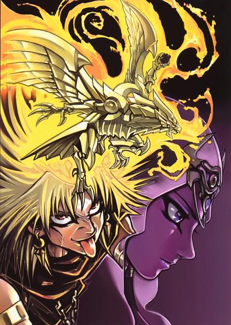Kazuki Takahashi, Studio Gallop, Yu-Gi-Oh! Duel Monsters, Duel Art - Kazuki Takahashi Yu-Gi-Oh! Illustrations, Yami Marik