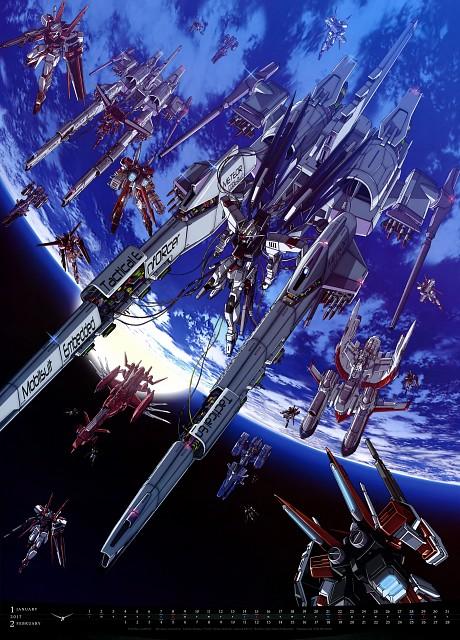 Shigeta Satoshi, Sunrise (Studio), Mobile Suit Gundam SEED, Mobile Suit Gundam Series 2017 Calendar, Calendar