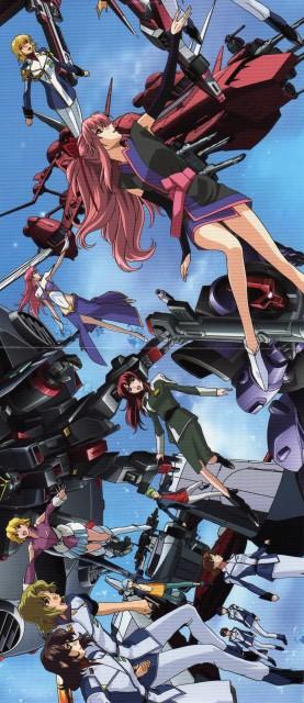 Sunrise (Studio), Mobile Suit Gundam SEED Destiny, Mu La Flaga, Arnold Neumann, Sting Oakley