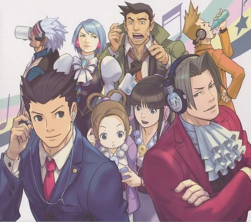 Capcom, Ace Attorney, Godot, Larry Butz, Maya Fey