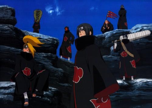 Studio Pierrot, Naruto, Kakuzu , Itachi Uchiha, Obito Uchiha