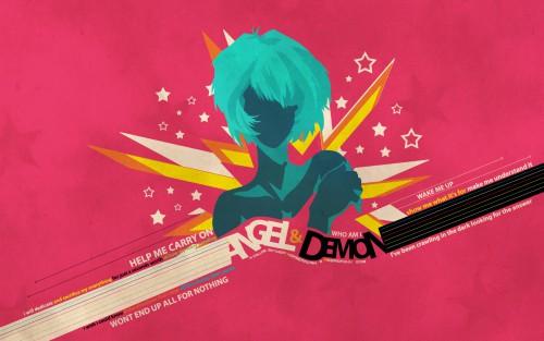 Yoshiyuki Sadamoto, Gainax, Neon Genesis Evangelion, Rei Ayanami, Vector Art Wallpaper