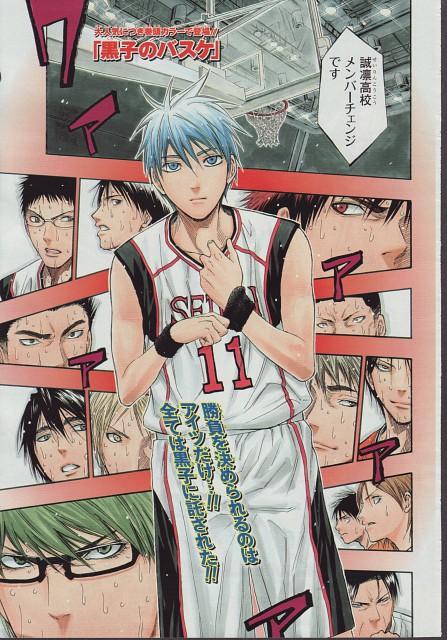 Tadatoshi Fujimaki, Kuroko no Basket, Teppei Kiyoshi, Rinnosuke Mitobe, Tetsuya Kuroko