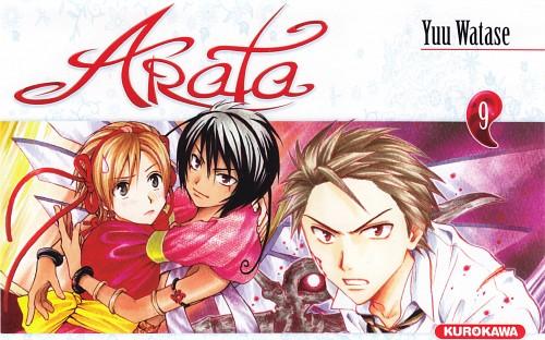 Yuu Watase, Arata Kangatari, Hinohara Arata, Masato Kadowaki, Manga Cover