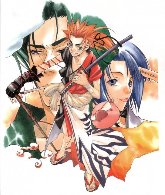 Nanae Chrono, Peacemaker Kurogane, Toshizou Hijikata (Peacemaker Kurogane), Souji Okita (Peacemaker Kurogane), Tetsunosuke Ichimura