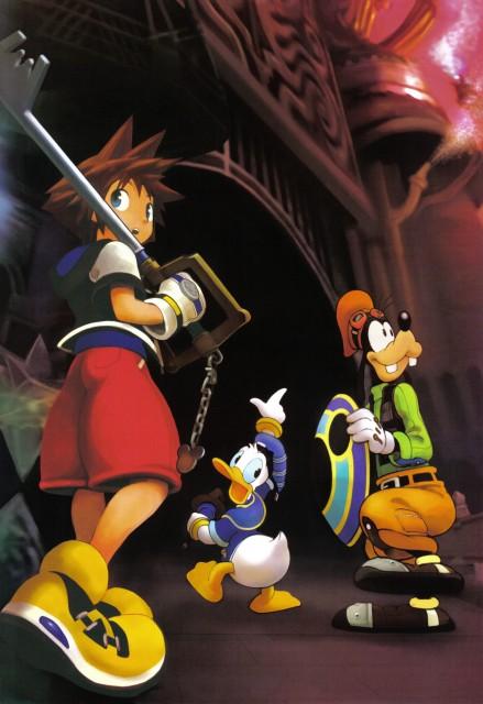 Shiro Amano, Art Works Kingdom Hearts, Kingdom Hearts, Goofy, Donald Duck