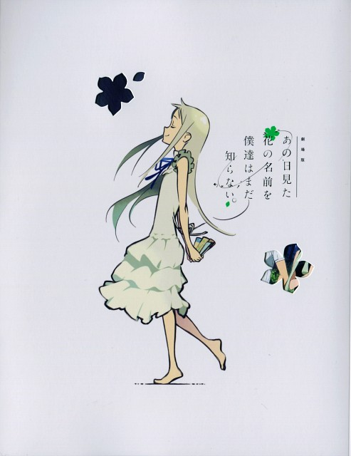 A-1 Pictures, AnoHana, Meiko Honma