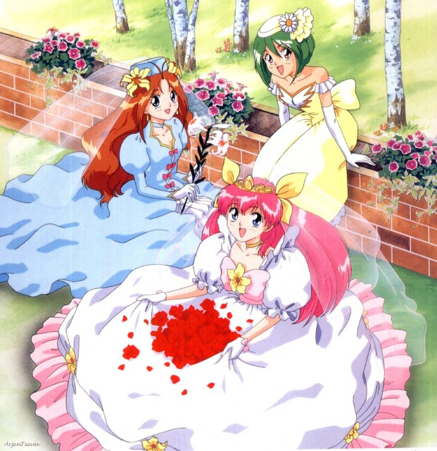 Nao Yazawa, KSS, Wedding Peach, Yuri Tanima, Hinagiku Tamano