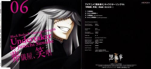 A-1 Pictures, Kuroshitsuji, Undertaker, Junichi Suwabe, Album Cover