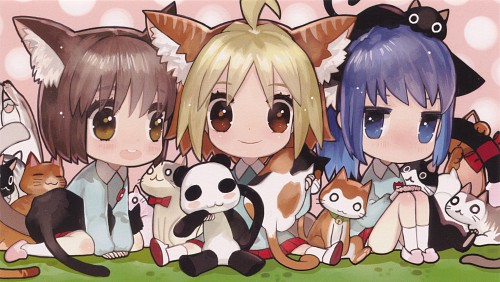 Yuuto, Gainax, Hanamaru Youchien, Koume, Hiiragi (Hanamaru Youchien)