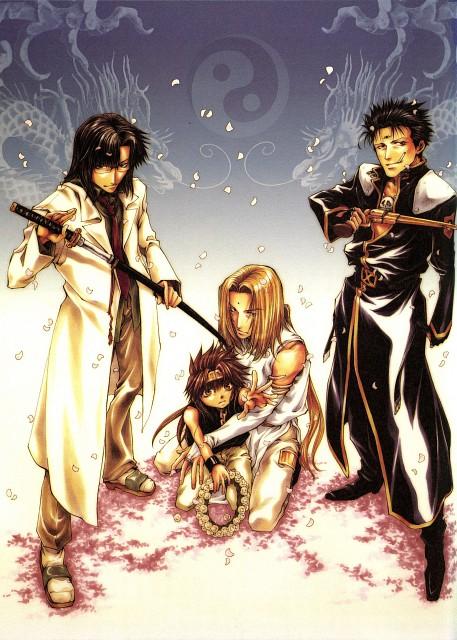 Kazuya Minekura, Saiyuki Gaiden, Salty Dog IV, Kenren Taishou, Son Goku (Saiyuki)