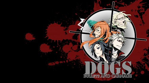 Miwa Shirow, Dogs: Bullets and Carnage, Badou Nails, Naoto Fuyumine, Haine Rammsteiner Wallpaper