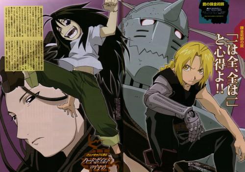 BONES, Fullmetal Alchemist, Alphonse Elric, Wrath, Edward Elric