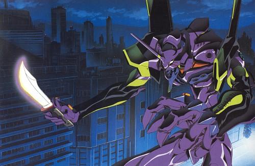 Yoshiyuki Sadamoto, Gainax, Neon Genesis Evangelion, Die Sterne, Unit-01
