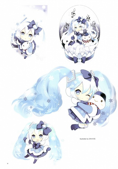 Putidevil, Snow Miku 5th Anniversary Memorial Book, Vocaloid, Miku Hatsune