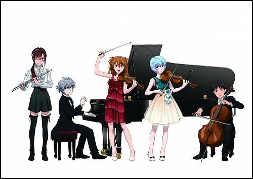 Gainax, Neon Genesis Evangelion, Rei Ayanami, Kaworu Nagisa, Shinji Ikari