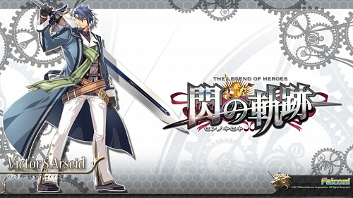 Falcom, The Legend of Heroes: Zero no Kiseki, Victor S. Arseid, Official Wallpaper