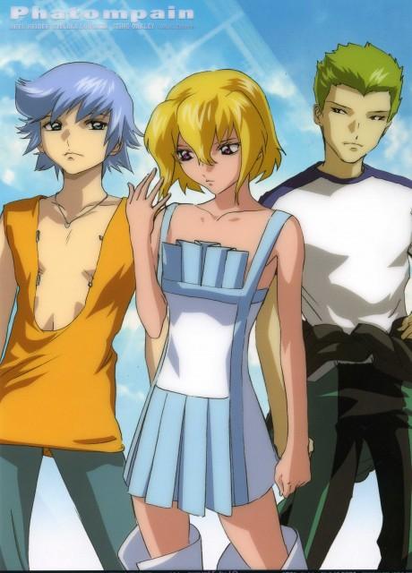 Sunrise (Studio), Mobile Suit Gundam SEED Destiny, Stellar Loussier, Sting Oakley, Auel Neider
