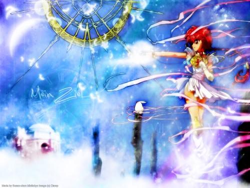 CLAMP, Magic Knight Rayearth, Hikaru Shidou Wallpaper
