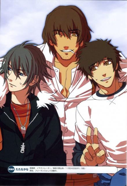Nitro+, A-1 Pictures, Togainu no Chi, Akira (Togainu no Chi), Keisuke