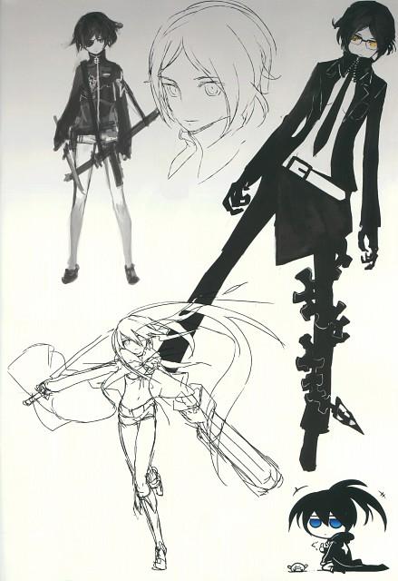 huke, Black Rock Shooter, Black Rock Shooter (Character)