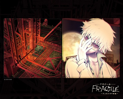 Bandai Visual, tri-Crescendo, Fragile Dreams, Shin (Fragile Dreams), Official Wallpaper