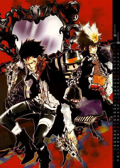Akira Amano, Artland, Katekyo Hitman Reborn!, Tsunayoshi Sawada, Mammon (Katekyo Hitman Reborn!)