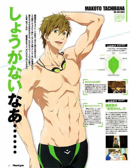 Nobuaki Maruki, Kyoto Animation, Free!, Makoto Tachibana, Newtype Magazine