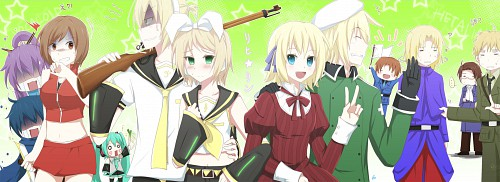 Studio DEEN, Hetalia: Axis Powers, Vocaloid, Austria, Liechtenstein