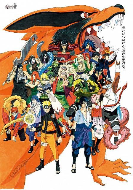Masashi Kishimoto, Naruto, Obito Uchiha, Tsunade, Kushina Uzumaki