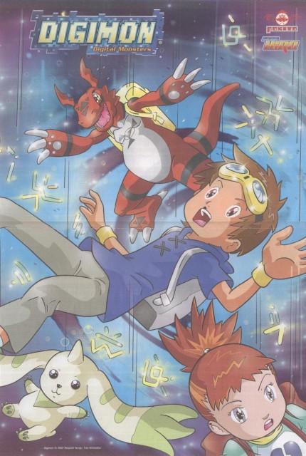 Toei Animation, Digimon Tamers, Ruki Makino, Takato Matsuda