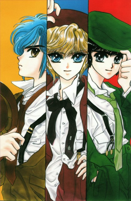 CLAMP, CLAMP School Detectives, CLAMP no Kiseki, CLAMP South Side, Suoh Takamura