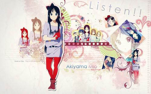 Kakifly, Kyoto Animation, K-On!, Ritsu Tainaka, Azusa Nakano Wallpaper