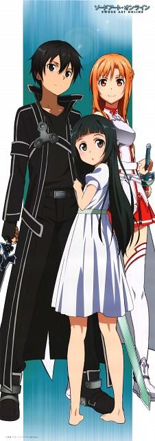 Abec, A-1 Pictures, Sword Art Online, Yui (Sword Art Online), Kazuto Kirigaya