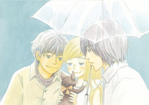 Chika Umino, Honey and Clover, Shinobu Morita, Yuuta Takemoto, Hagumi Hanamoto