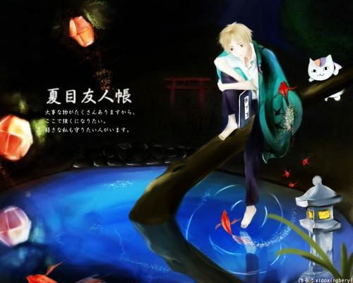 Yuki Midorikawa, Brains Base, Natsume Yuujin-Chou, Nyanko-sensei, Takashi Natsume Wallpaper