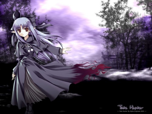 TYPE-MOON, Melty Blood, Len (Melty Blood) Wallpaper