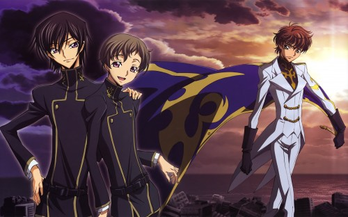 Takahiro Kimura, Kana Ishida, Sunrise (Studio), Lelouch of the Rebellion, Code Geass Illustrations Relation