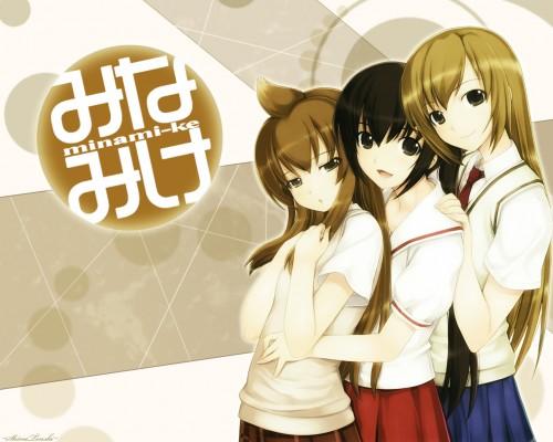 Koharu Sakuraba, Daume, Minami-ke, Haruka Minami (Minami-ke), Chiaki Minami Wallpaper