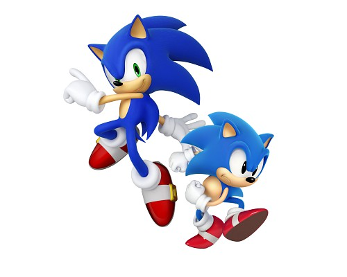 Sega, Sonic the Hedgehog, Sonic, Official Digital Art