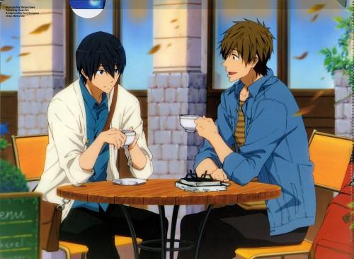 Shinpei Sawa, Kyoto Animation, Free!, Makoto Tachibana, Haruka Nanase (Free!)